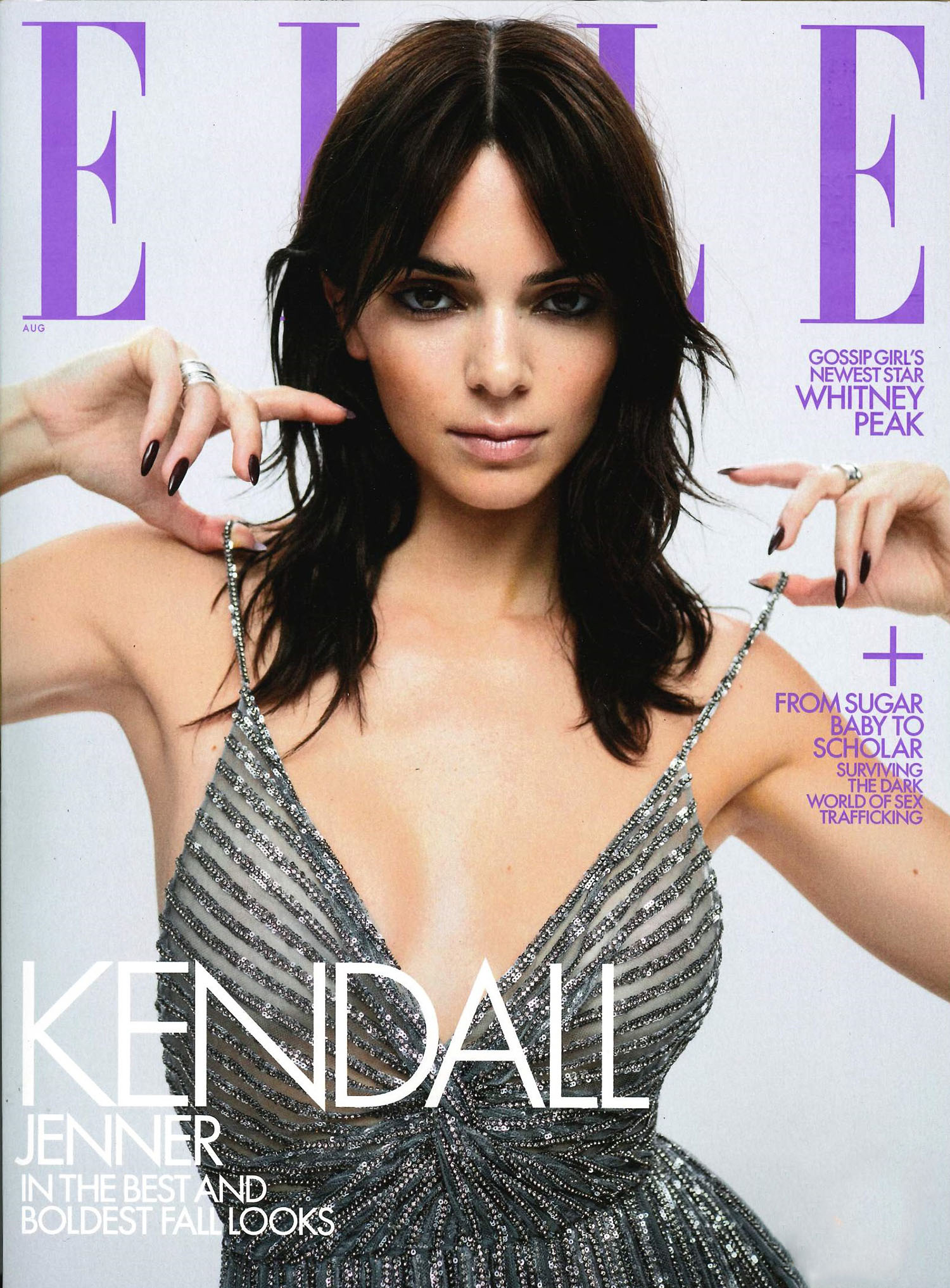 Kendall Jenner covers Elle US August 2021 by Zoey Grossman