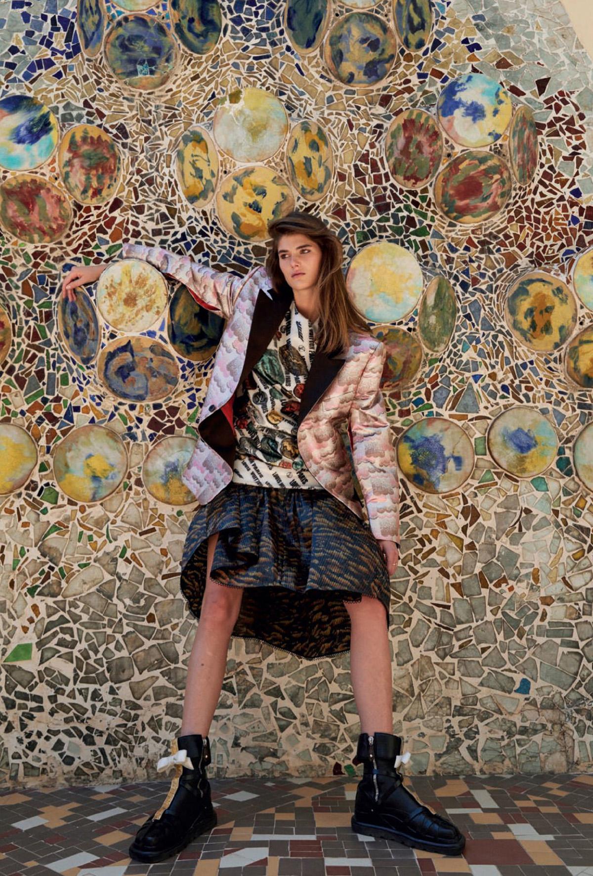 Lucia Lopez by Fede Delibes for Harper's Bazaar Spain September 2021