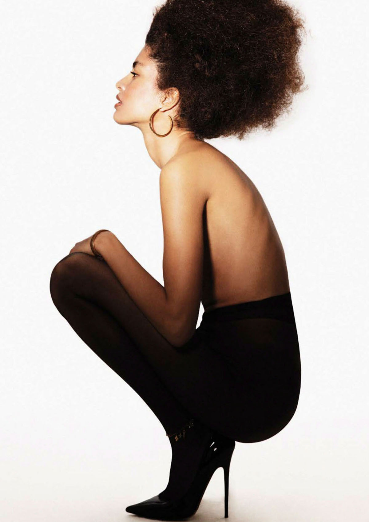 Luz Pavon by Daniella Midenge for Vogue Mexico & Latin America August 2021