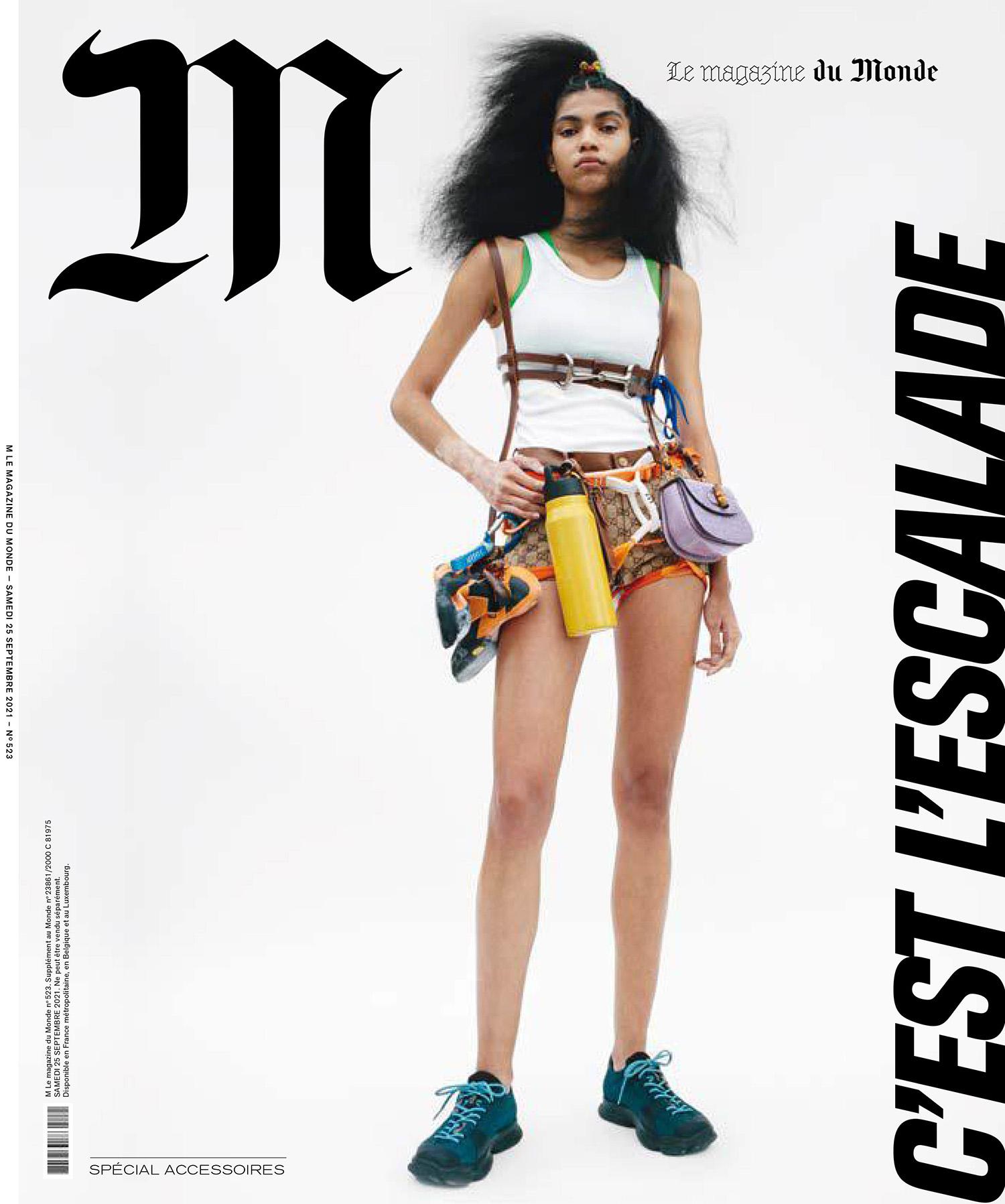 M Le magazine du Monde September 25th, 2021 covers by Tim Elkaïm