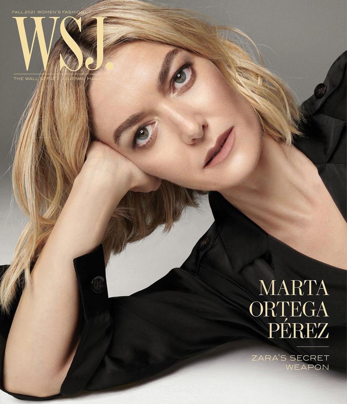Marta Ortega Pérez covers WSJ. Magazine Fall 2021 Digital Edition by Steven Meisel