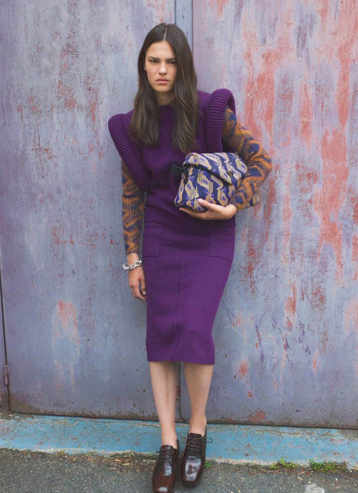 Matea Brakus by Julia Champeau for Elle France September 10th, 2021