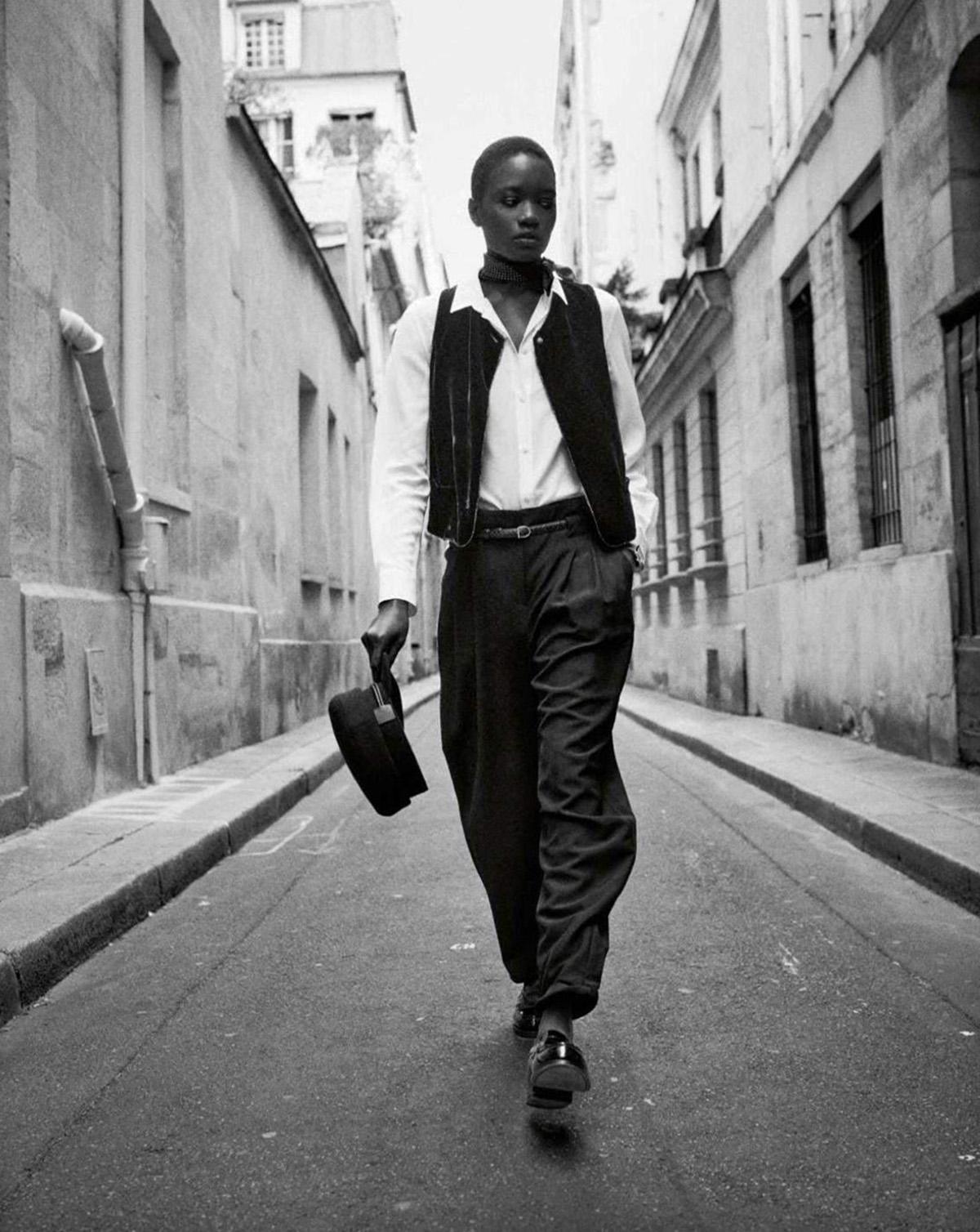 Maty N'diaye by Jan Welters for Elle France September 17th, 2021