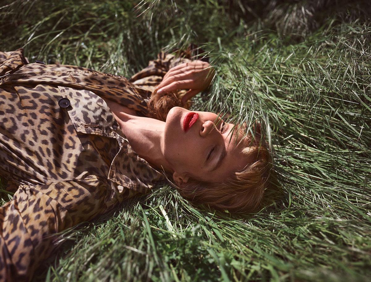 Natalia Vodianova covers Harper's Bazaar UK September 2021 by Cedric Bihr