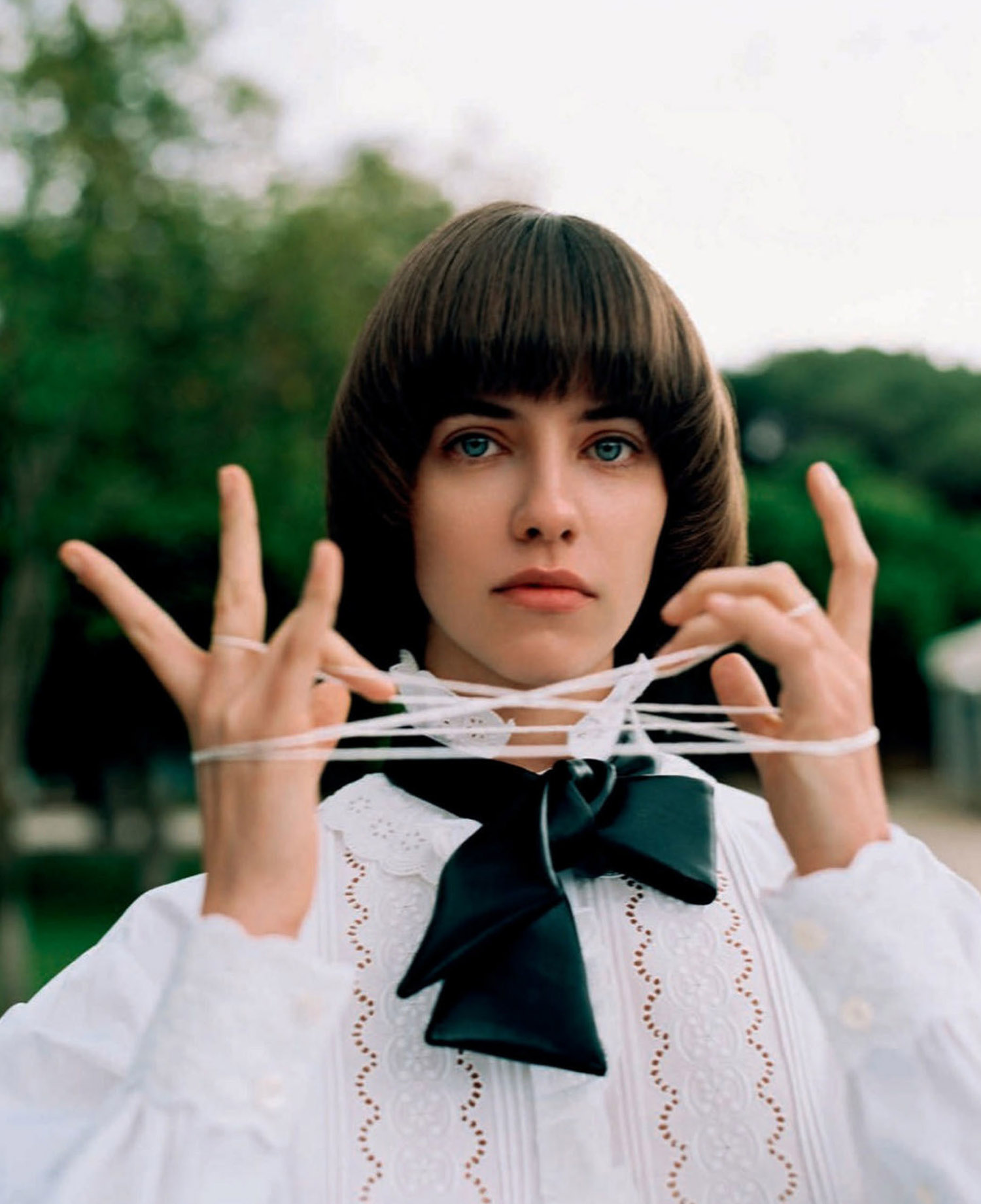 Olivia Martín by Anya Holdstock for Vogue Spain September 2021