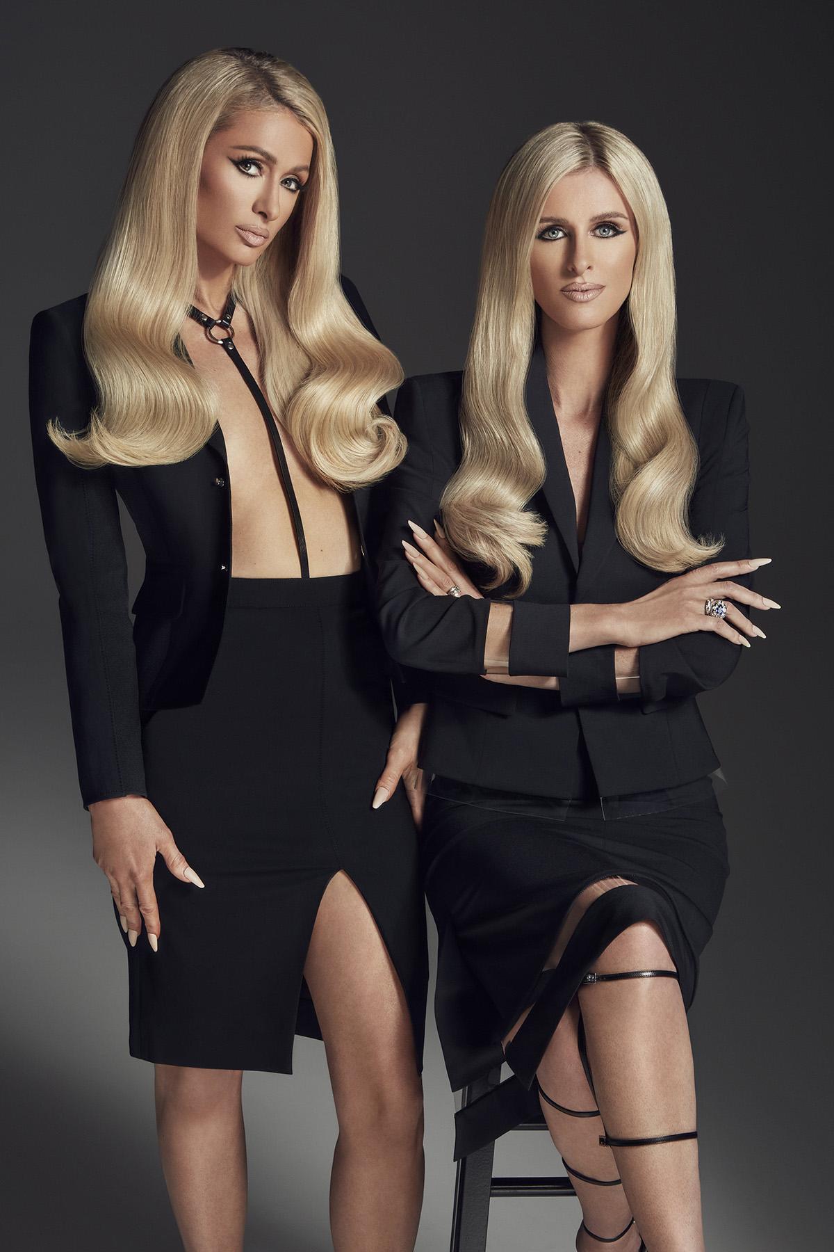 Paris Hilton & Nicky Hilton cover L'Officiel Italia Issue 36 by Vijat Mohindra