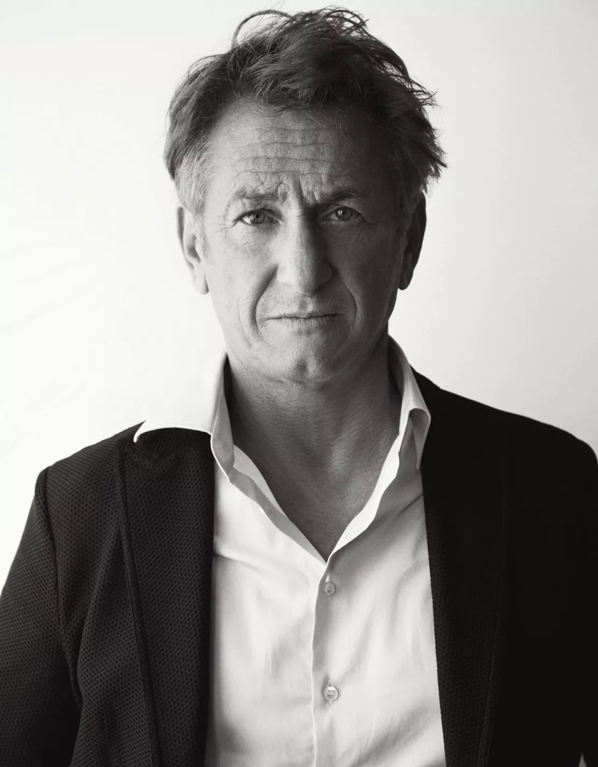 Sean Penn and Dylan Penn cover Madame Figaro September 17th, 2021 by Matias Indjic
