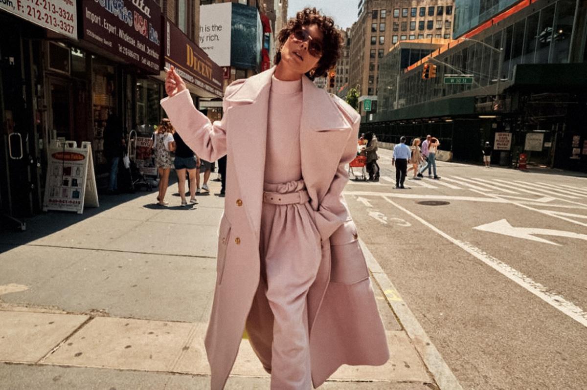 Shalom Harlow covers Harper's Bazaar Spain September 2021 by David Roemer