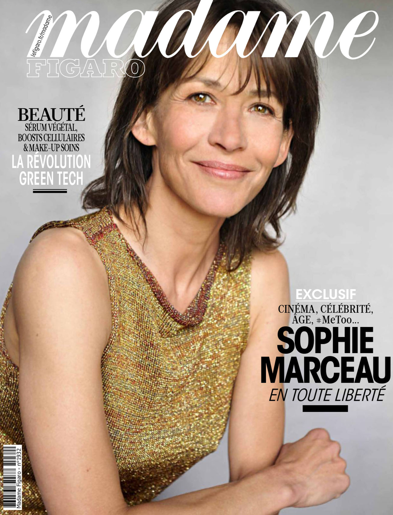 Sophie Marceau covers Madame Figaro September 3rd, 2021 by Elsa Trillat