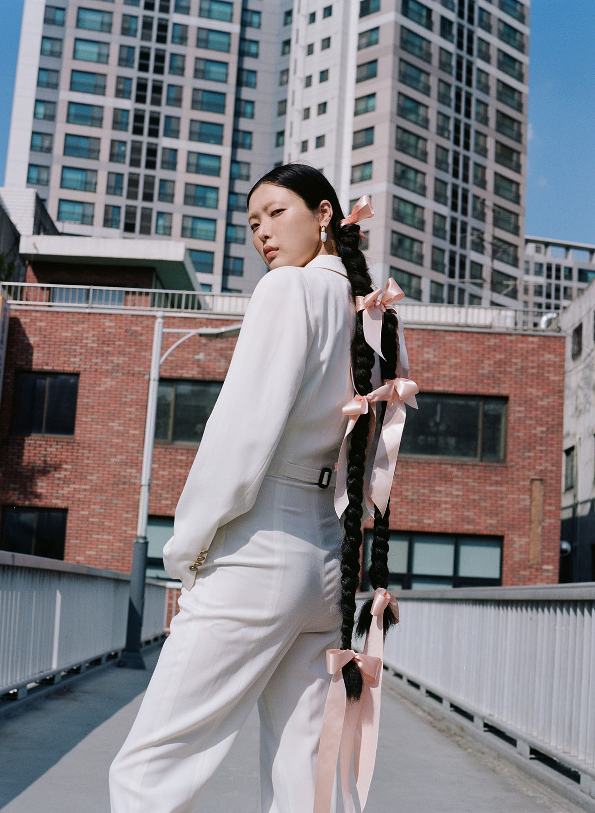 Sung Hee Kim by Cecy Young for Elle Mexico September 2021
