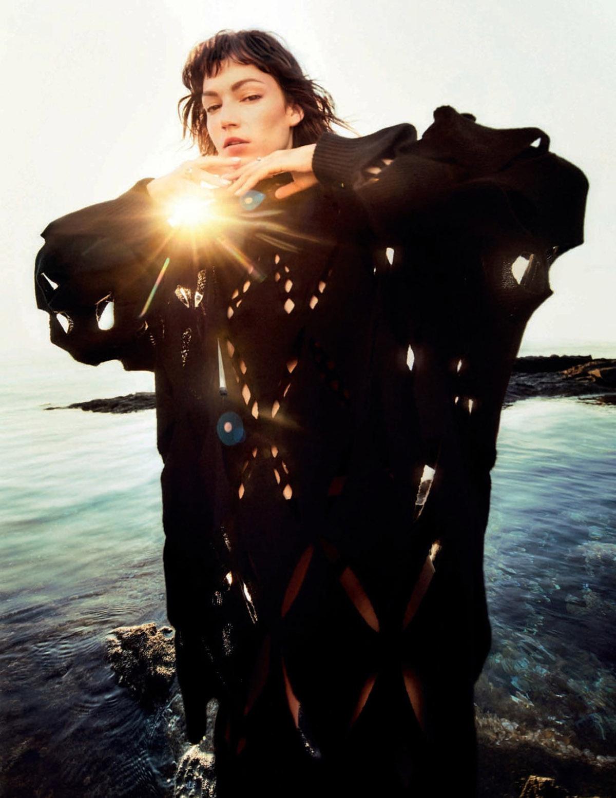 Úrsula Corberó covers Vogue Spain September 2021 by Txema Yeste