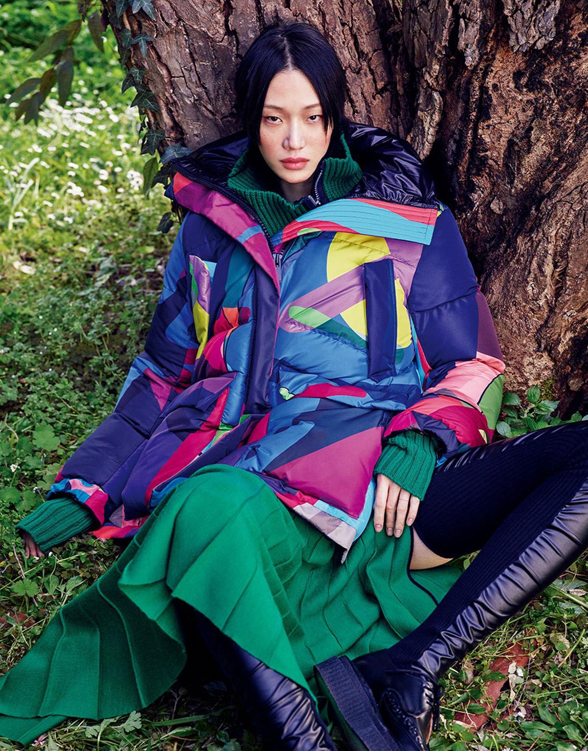 Vogue Japan September 2021 cover by Luigi & Iango