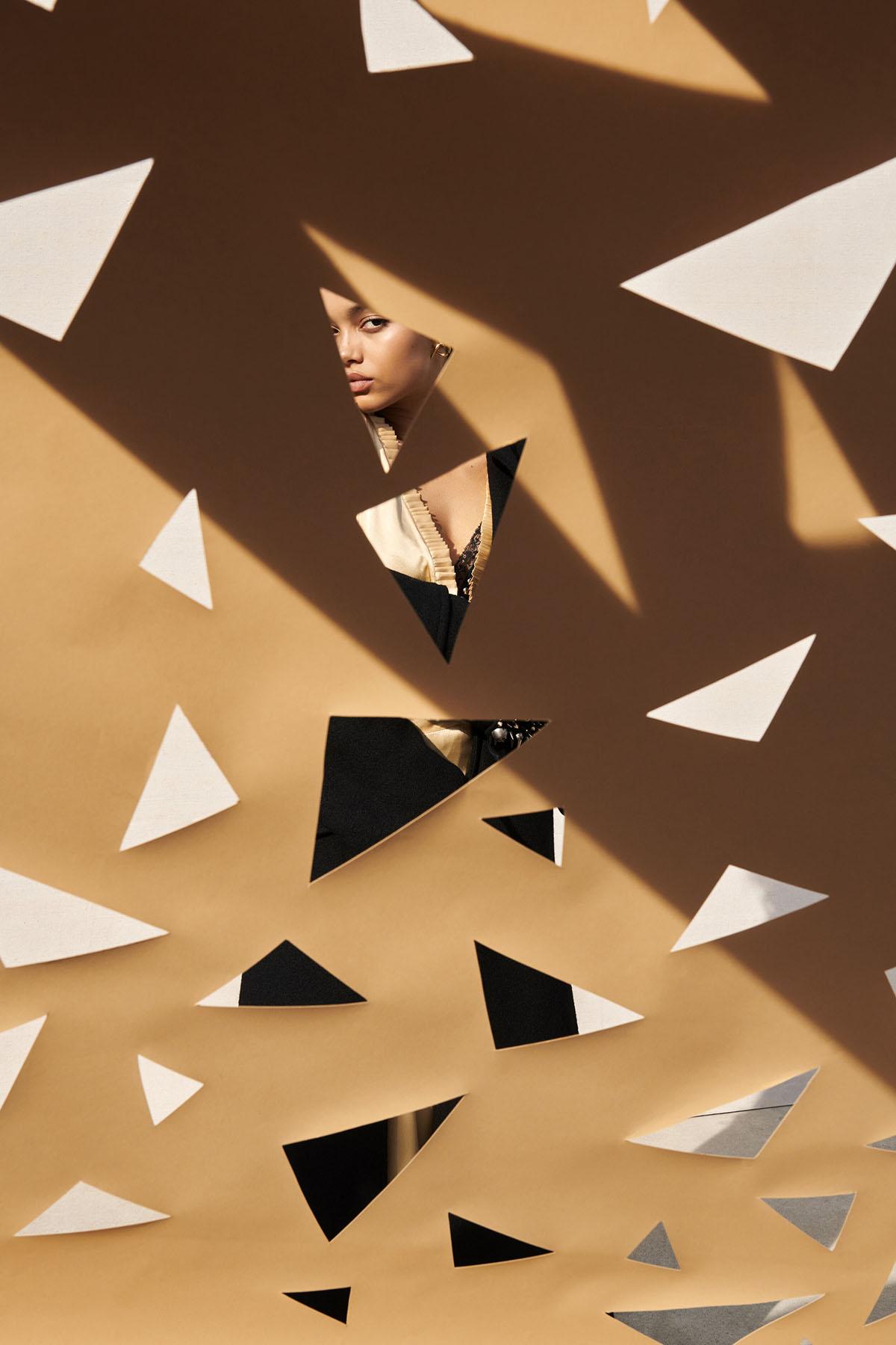 Whitney Peak by Matthew Kristall for Elle US August 2021