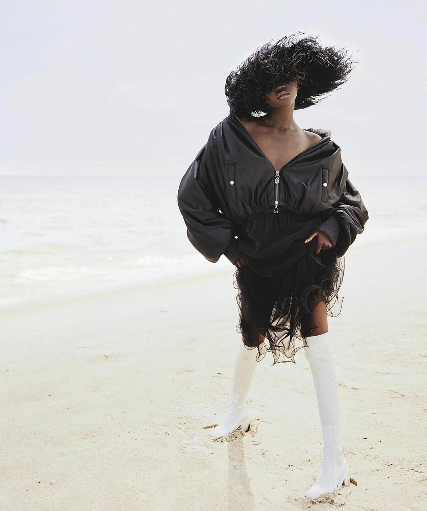 Achenrin Madit by Drew Jarrett for Vogue Australia October 2021