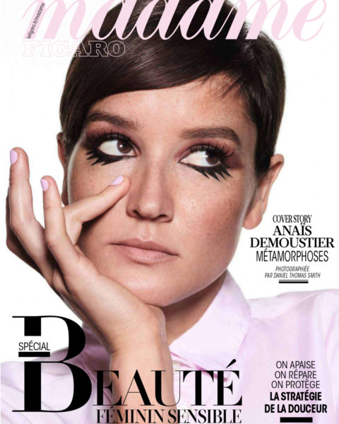 Anaïs Demoustier covers Madame Figaro October 22nd, 2021 by Daniel Thomas Smith