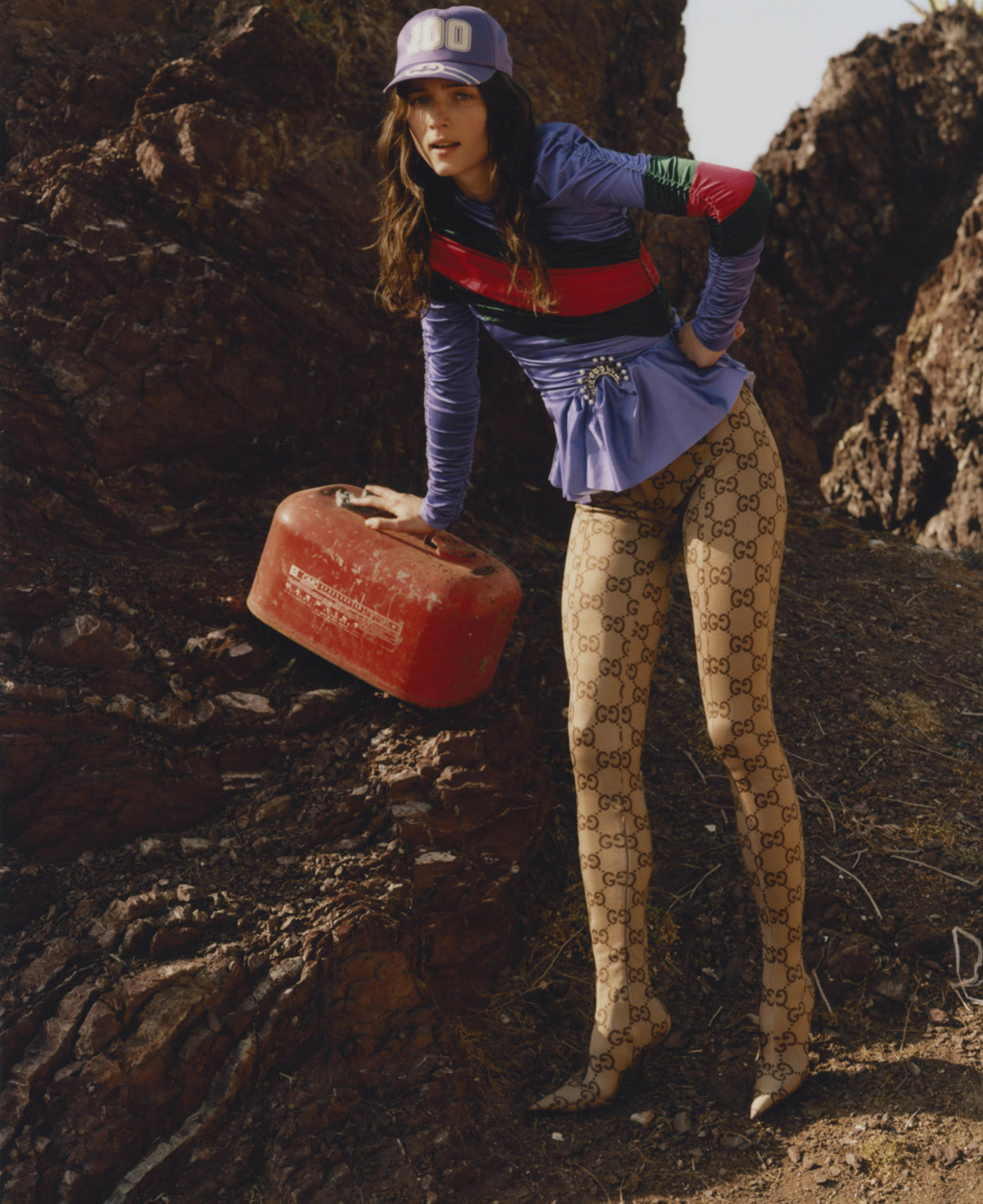 Anna de Rijk by Terence Connors for Elle US September 2021