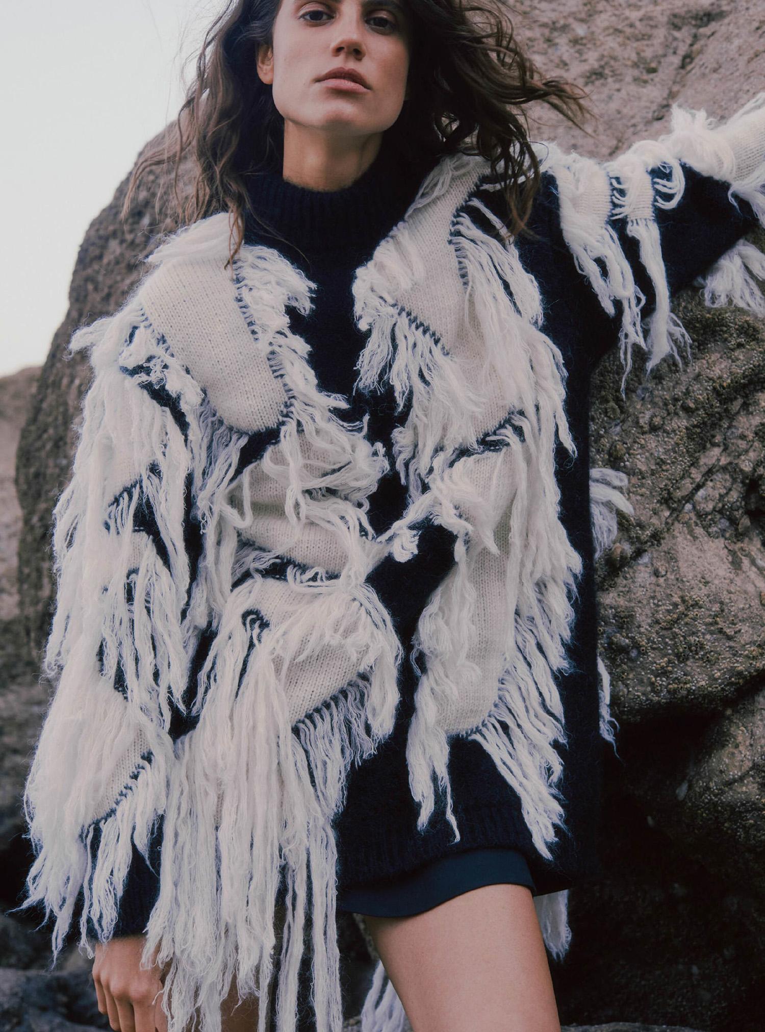 Antonina Petkovic by Agata Popieszynska for Harper's Bazaar UK October 2021