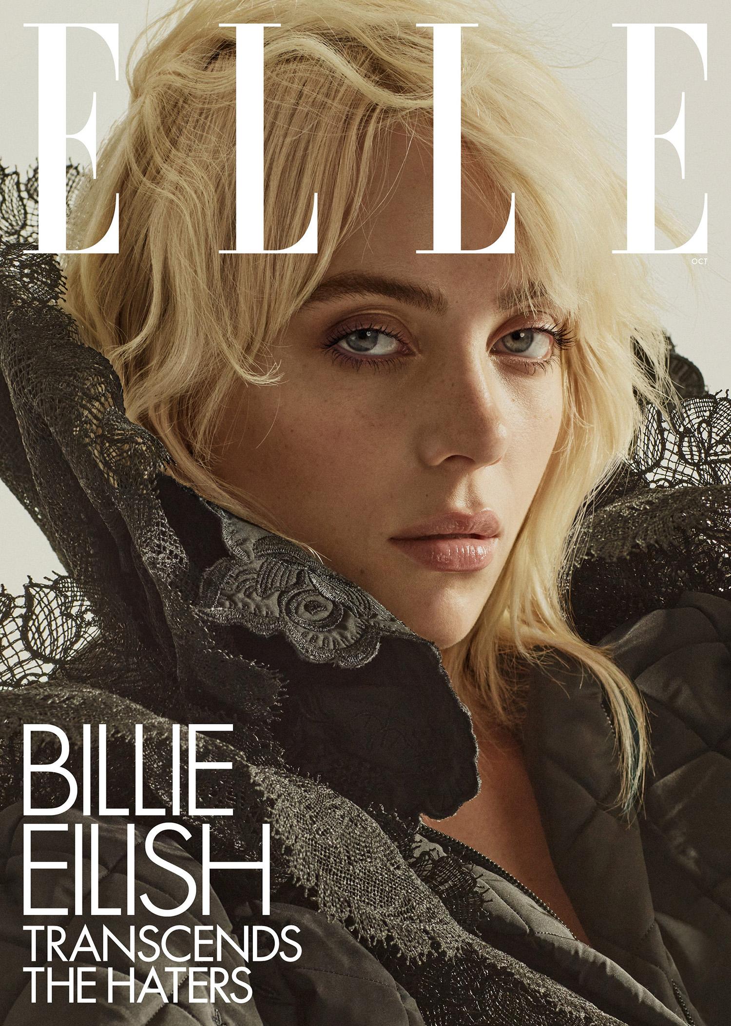 Billie Eilish covers Elle US October 2021 by Alique