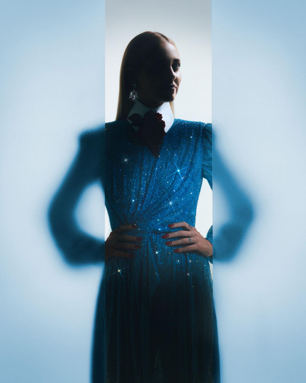 Chiara Ferragni covers Vogue Italia October 2021 by Scandebergs