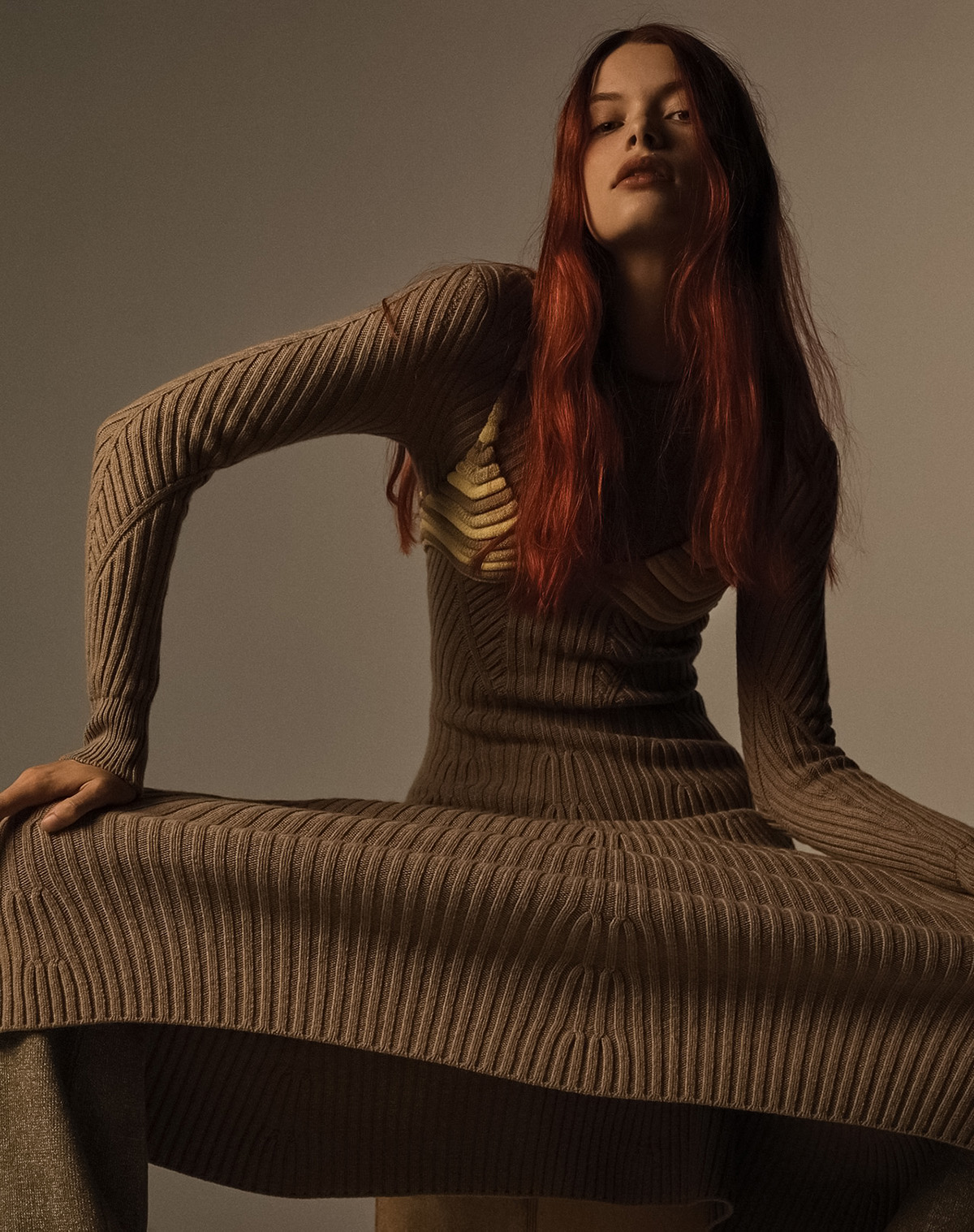 ''Knits & Pieces'' by Josh Olins for WSJ. Magazine Fall 2021