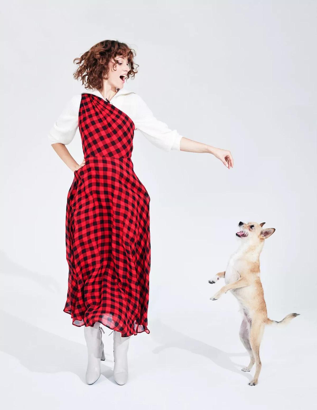 Laura Gavrilenko by Marc Philbert for Madame Figaro October 1st, 2021