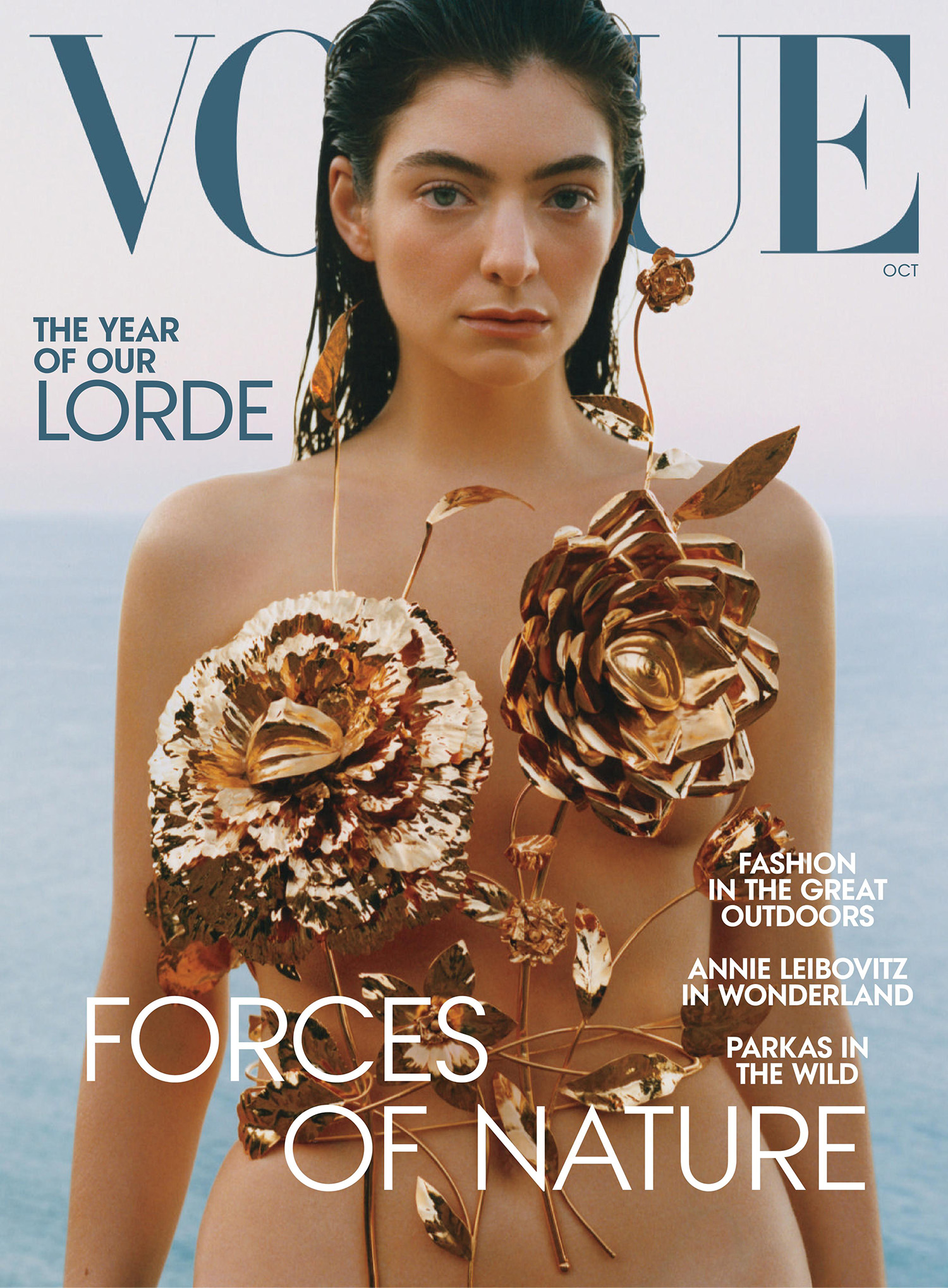 Lorde covers Vogue US October 2021 by Théo de Gueltzl