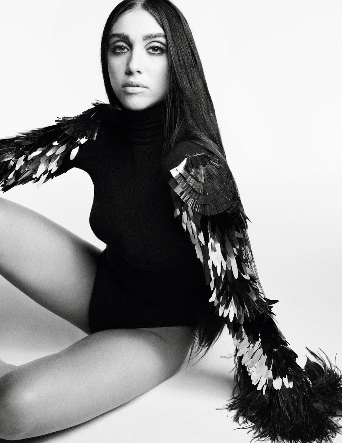 Lourdes Leon by Karim Sadli for Vogue Paris September 2021