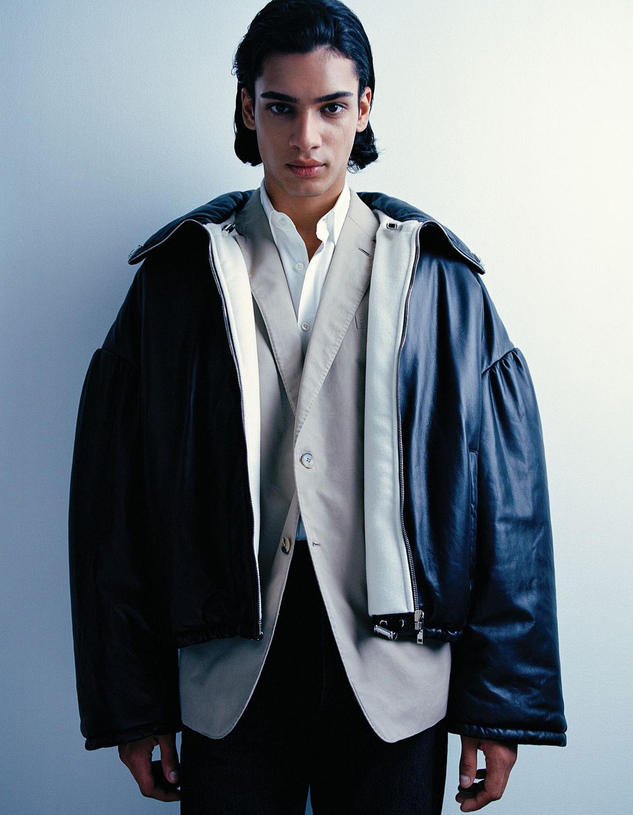 Mase Somanlall by Jon Ervin for WSJ. Magazine Fall 2021 Men's Style