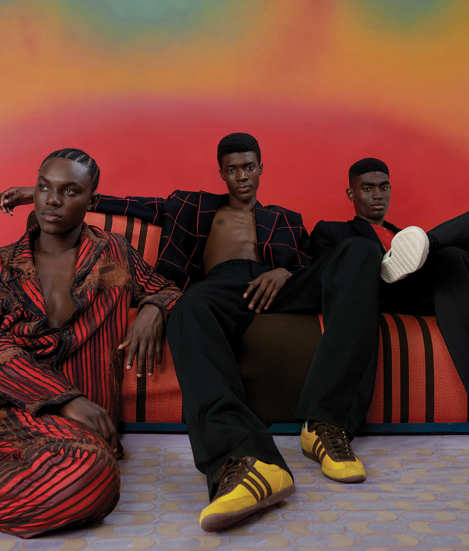 ''Over The Rainbow'' by Campbell Addy for WSJ. Magazine Fall 2021 Men's Style