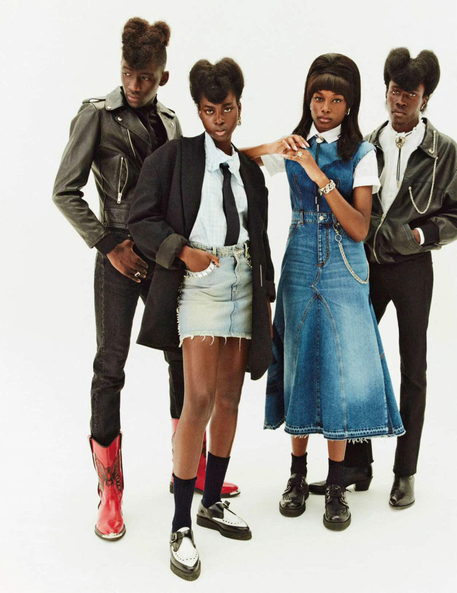 ''Rock A Billy Jean'' by Danny Kasirye for Elle France October 15th, 2021