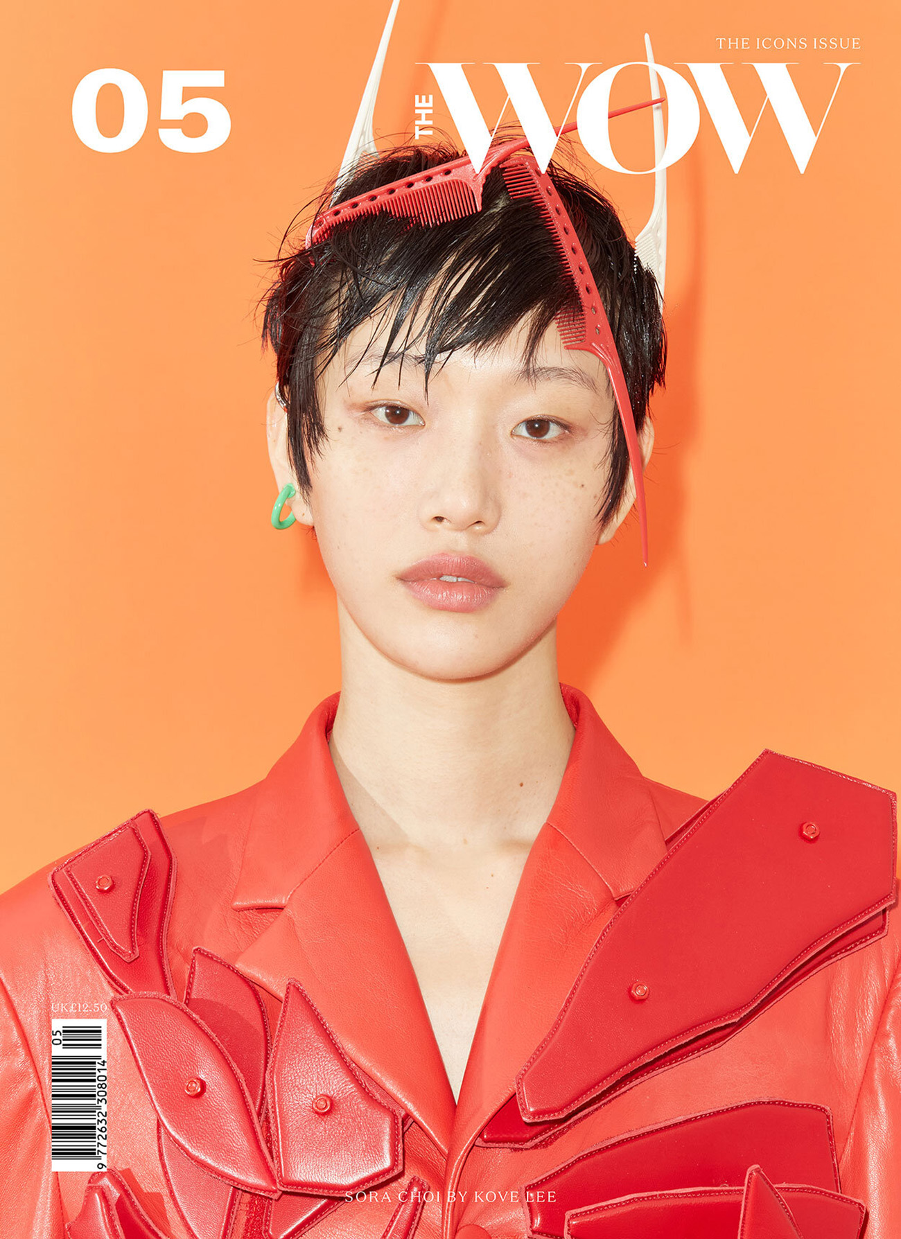 Sora Choi covers The WOW Magazine Issue 5 2021 by Kove Lee
