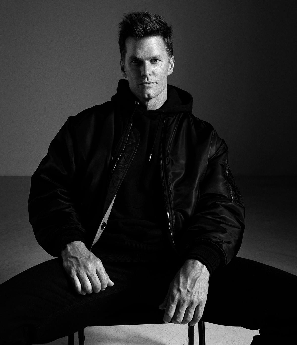 Tom Brady covers WSJ. Magazine Fall 2021 Men's Style by Mario Sorrenti