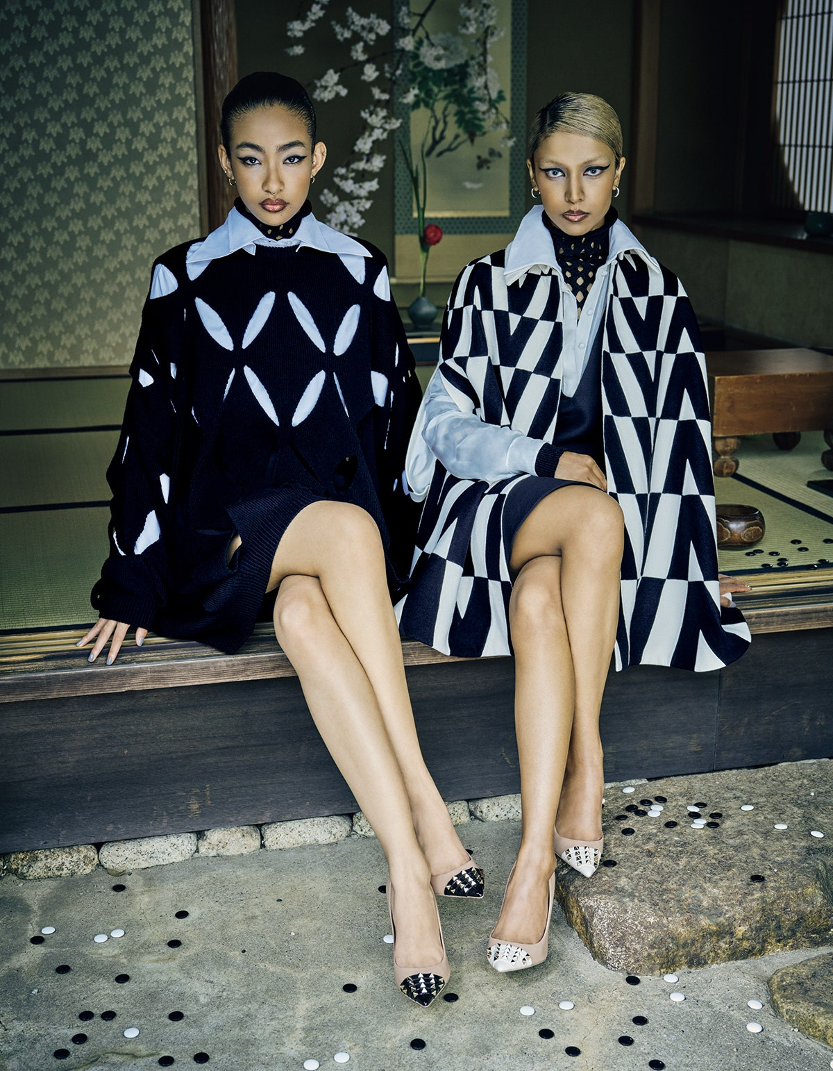 ''Twins In Fashion'' by Takay for Vogue Japan October 2021